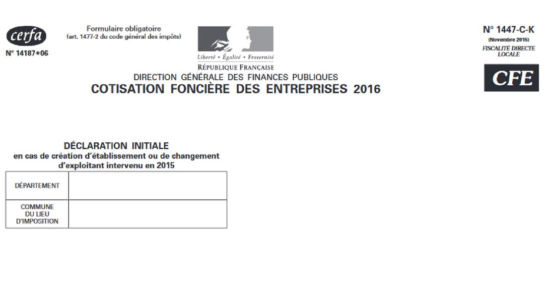 La CFE pour les micro-entrepreneurs