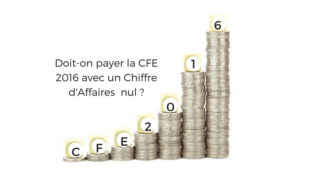 Read more about the article Les micro-entrepreneur avec un CA nul en 2015 sont exonéré(e)s de CFE !
