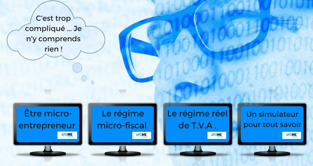 Simulateur du régime fiscal du micro-entrepreneur