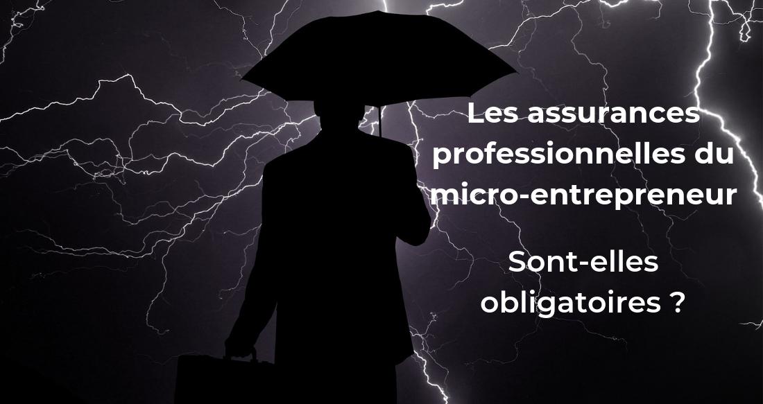 Les assurances professionnelles du micro-entrepreneur