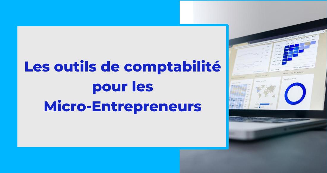 Les outils de l'UPSME pour la comptabilité du micro-entrepreneur
