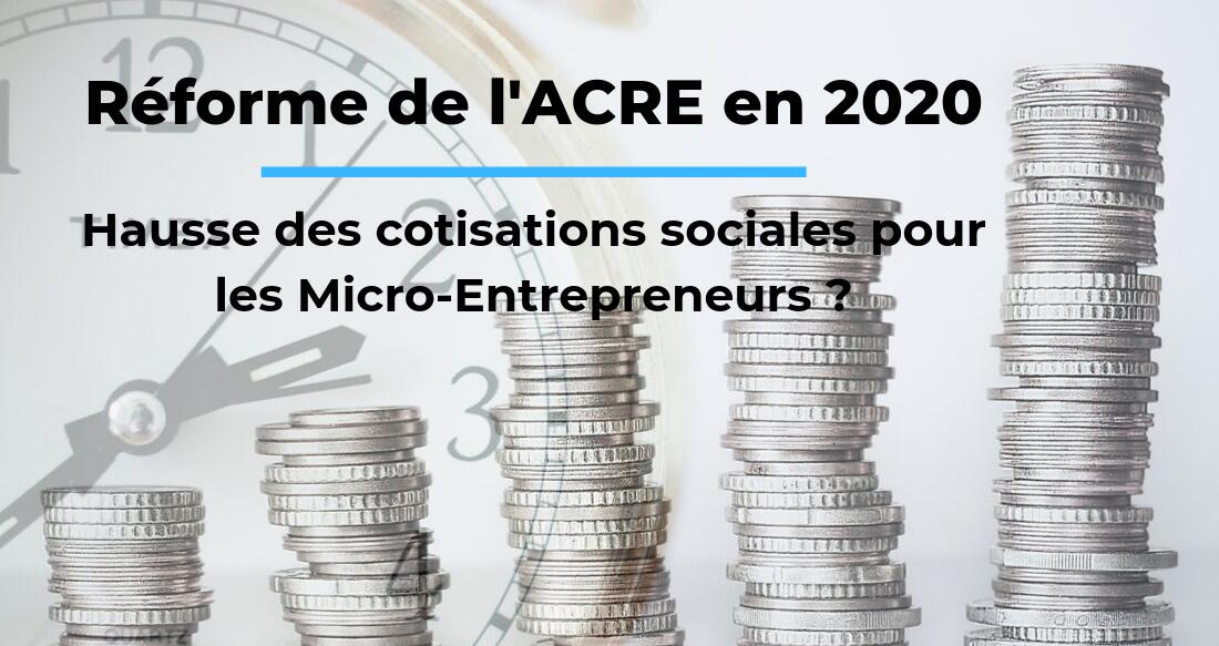 Hausse des charges sociales pour les micro-entrepreneurs en 2020 ?