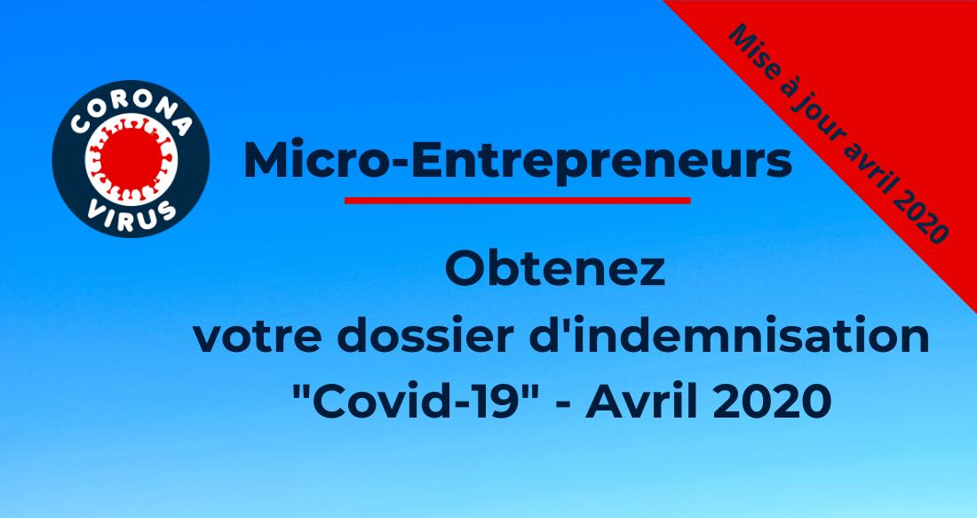 Micro-entrepreneur : obtenez votre dossier d'indemnisation «Covid-19»