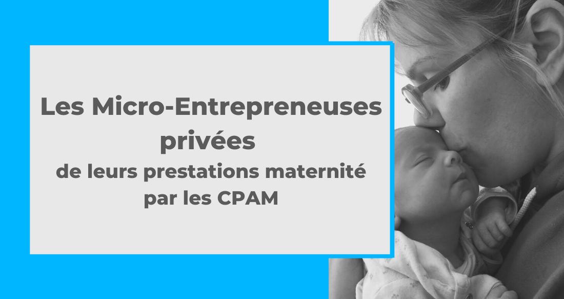 Les micro-entrepreneuses privées de leurs prestations maternité par les CPAM