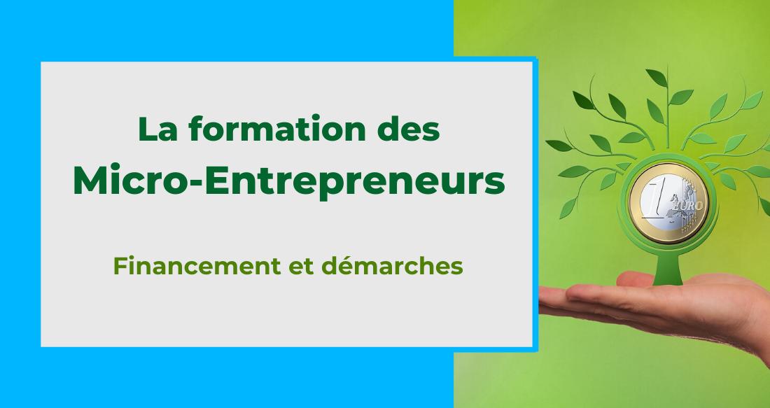 Le financement de la formation professionnelle des micro-entrepreneurs