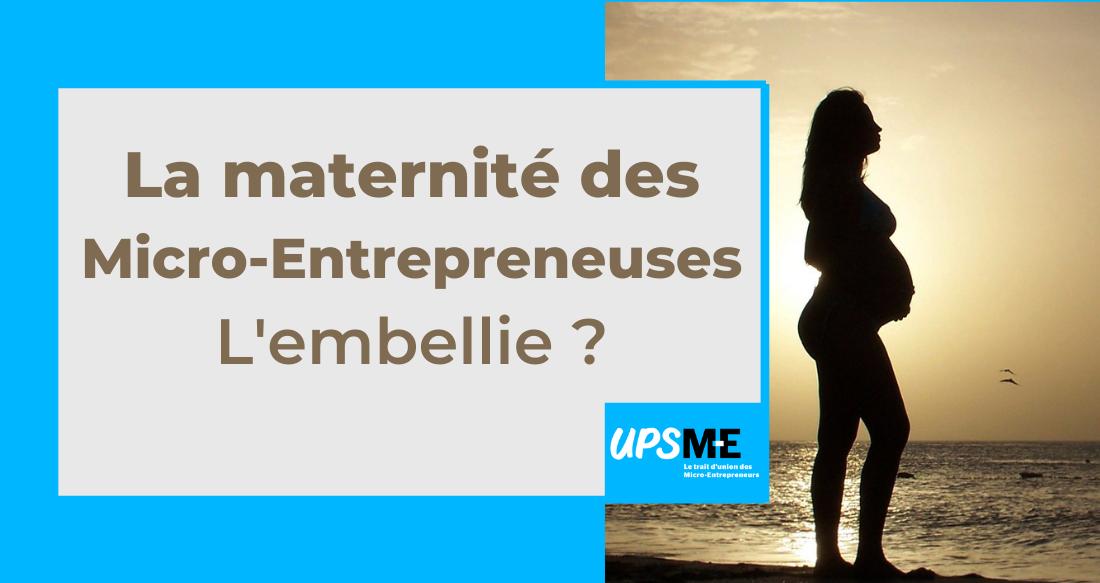 La maternité des micro-entrepreneuses : l'embellie ?