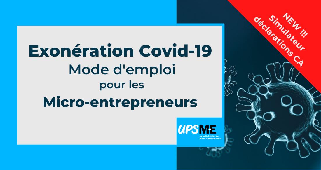 Micro-entrepreneurs : comment bénéficier de l'exonération des cotisations sociales «Covid-19»