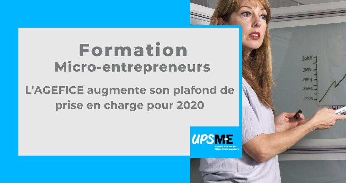 Read more about the article Formation Micro-entrepreneurs, l'AGEFICE augmente sa prise en charge pour 2020