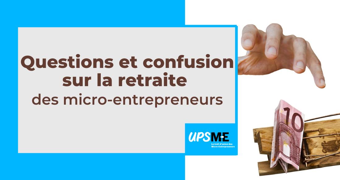 Read more about the article Chiffre d'affaires ou revenu imposable ? Questions et confusion sur la retraite des micro-entrepreneurs