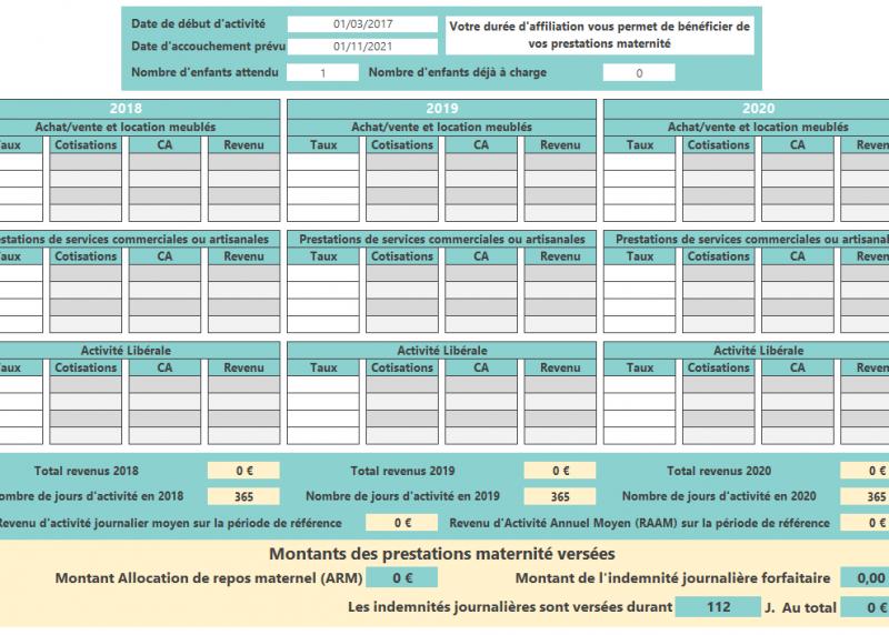 simulateur-prestations-maternité-cotisations-2021-V1